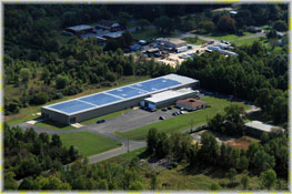Powering our NJ Rollforming/Roll Forming facility with Solar Energy Click for more/Roll Forming informatio